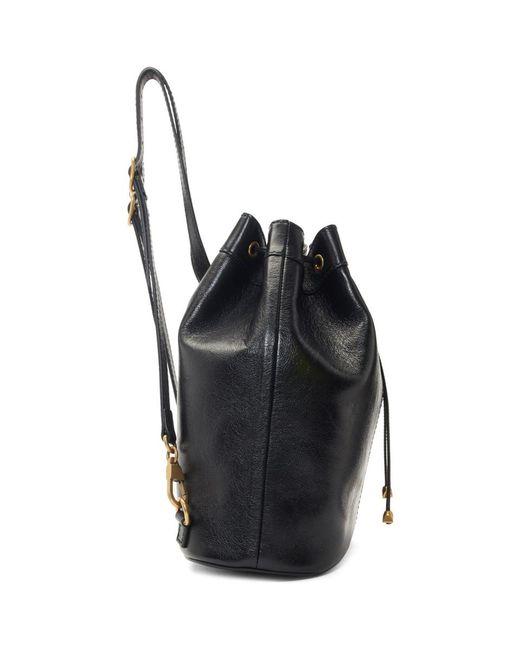 bb90e75e68c ... Gucci - Black Rebelle Bag - Lyst ...