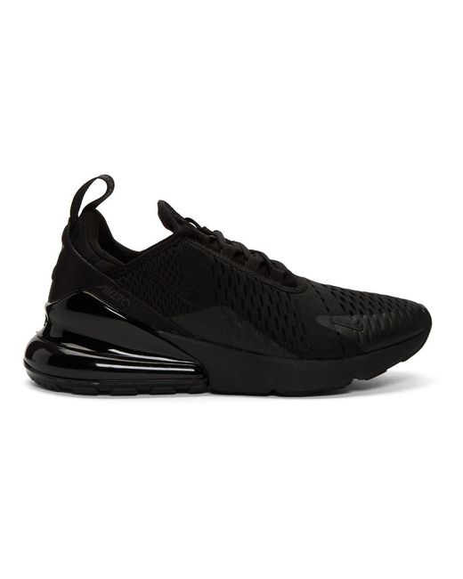 half off d6e82 1f138 Nike - Black Air Max 270 Sneakers for Men - Lyst ...