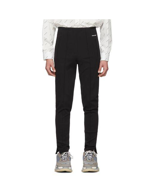 Balenciaga - Black ブラック トラック ラウンジ パンツ for Men - Lyst