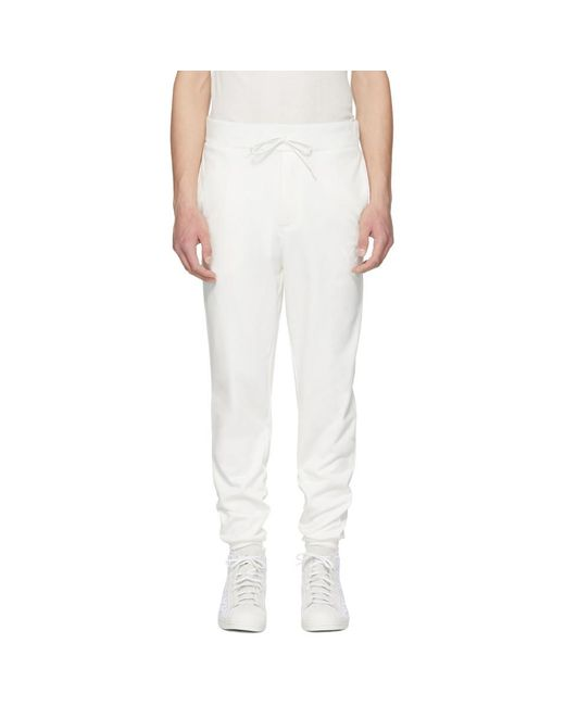 Y-3 - White Classic Logo Lounge Pants for Men - Lyst