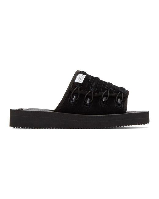 Suicoke - Black Mura-vs Sandals for Men - Lyst