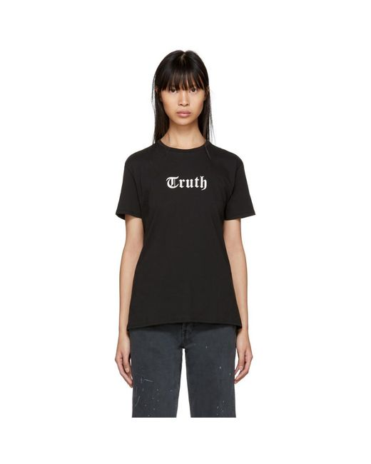 6397 - Black Truth Boy T-shirt - Lyst