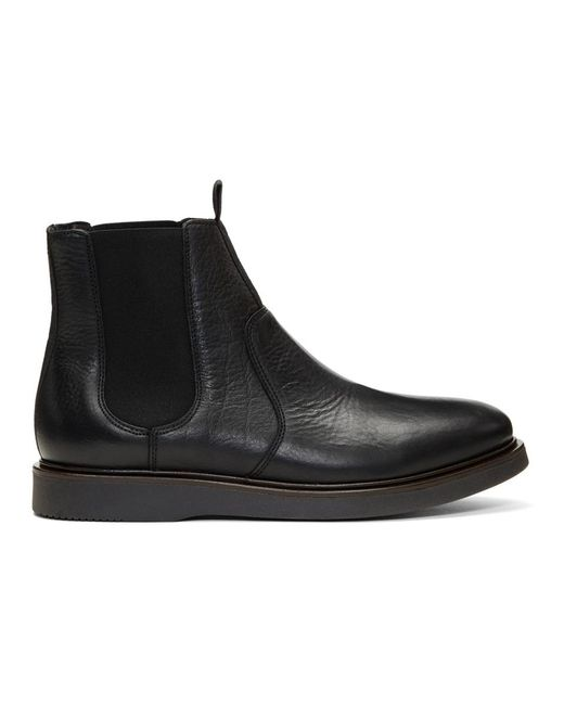 H by Hudson - Black Brooksby Chelsea Boots for Men - Lyst