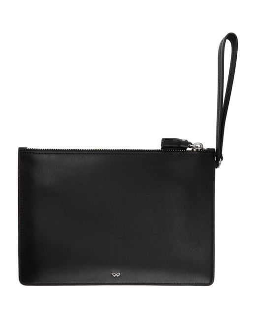 Black Eyes Zip Top Pouch Anya Hindmarch bfehza