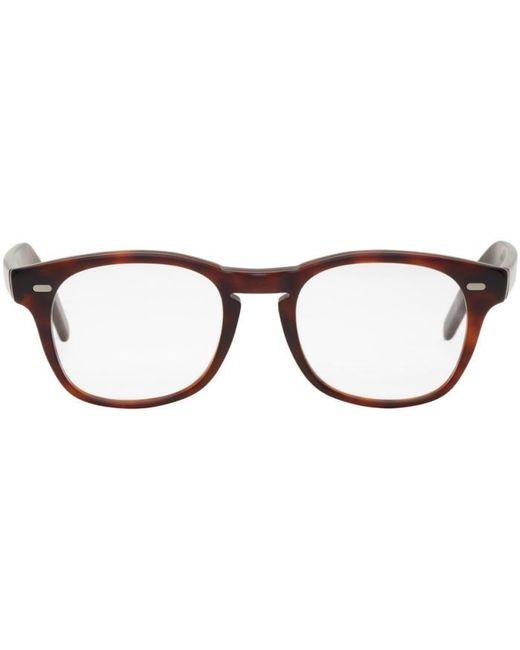 Cutler & Gross   Brown Tortoiseshell 1046 Glasses for Men   Lyst