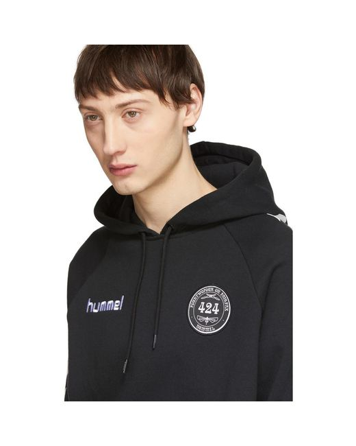 31911694d44 ... 424 - Black Hummel Edition Fleece Hoodie for Men - Lyst ...