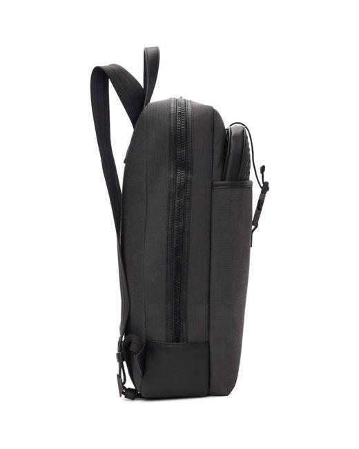 e945444828 ... Bottega Veneta - Grey And Black Medium Canvas High-teck Backpack for  Men - Lyst ...