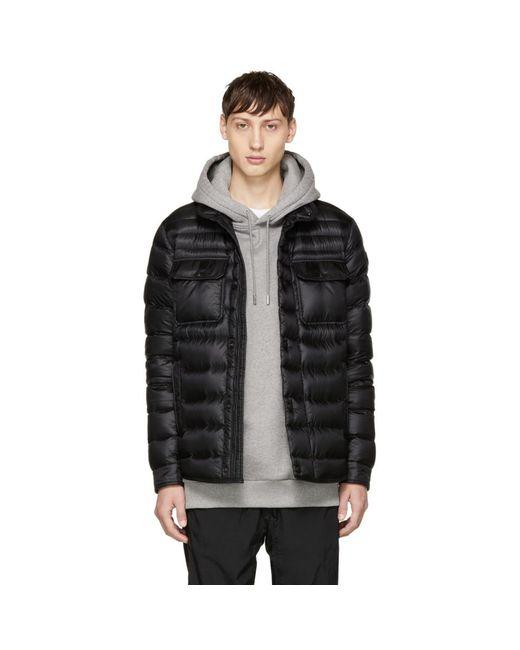 Moncler - Black Down Forbin Jacket for Men - Lyst