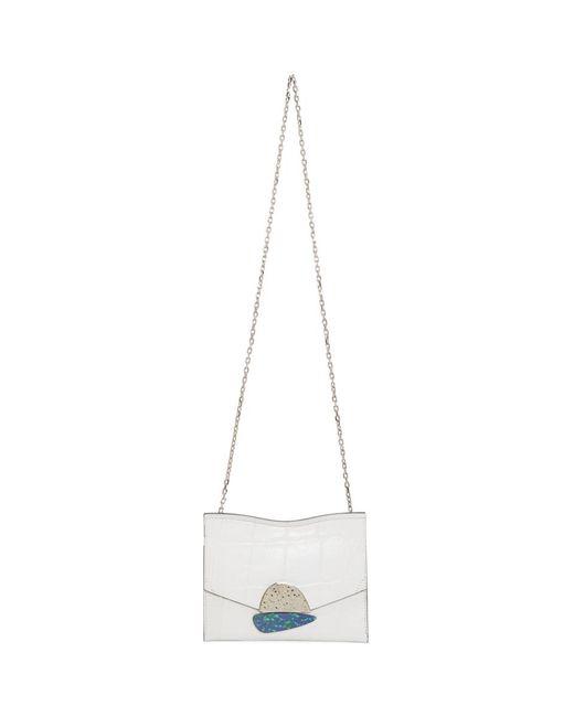 Proenza Schouler - White Small Curl Chain Bag - Lyst