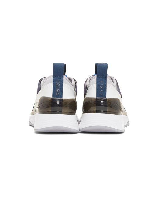 dba7f1783a KENZO Navy Klimb Sneakers in Blue for Men - Save 32% - Lyst