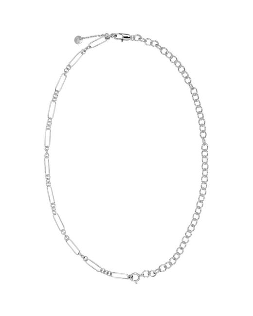 A.P.C. - Metallic Silver Jules Necklace for Men - Lyst