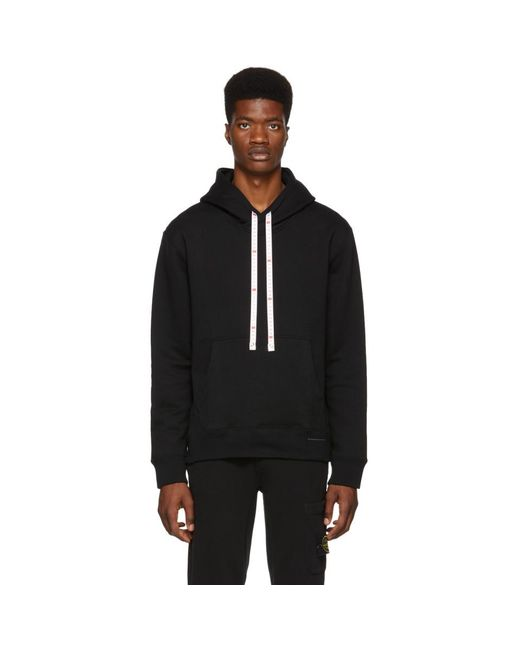 Miharayasuhiro - Black Pull a capuche noir Measure Tape for Men - Lyst