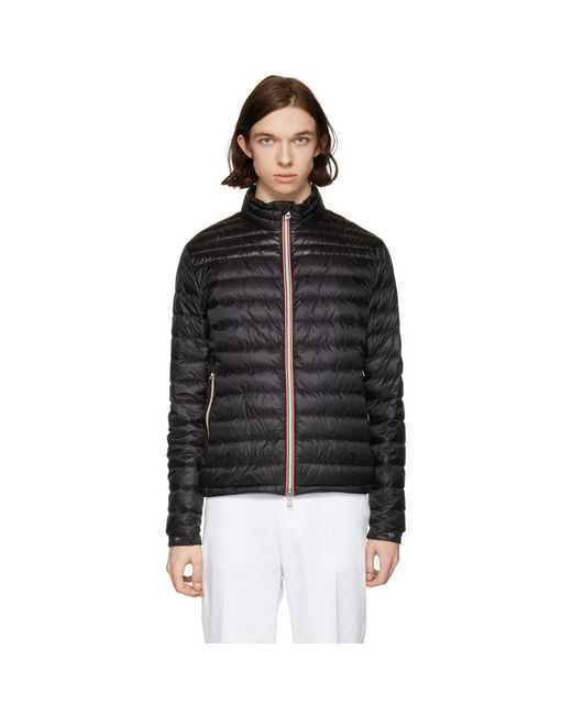 Moncler - Black Down Daniel Jacket for Men - Lyst
