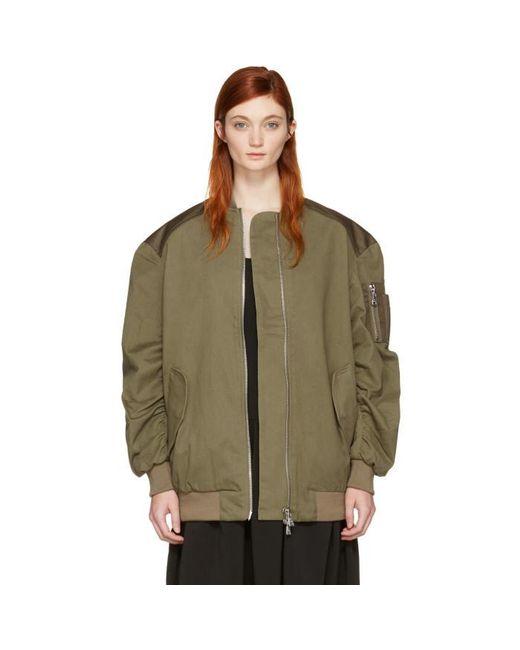 Won Hundred | Green Dolly 2 Bomber Jacket | Lyst