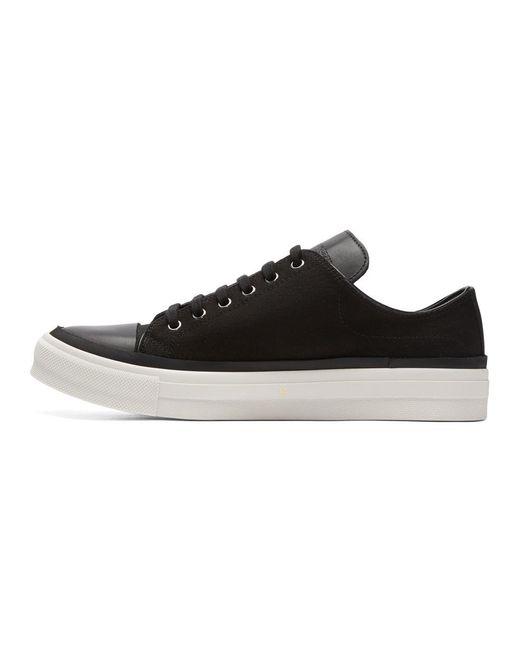 Alexander McQueen Black Skeleton Patch Sneakers RaddyNm4