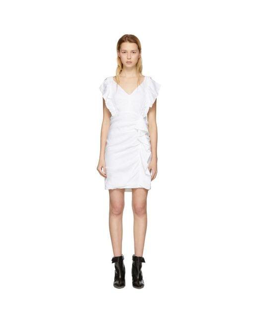 Étoile Isabel Marant - White Topaz Dress - Lyst
