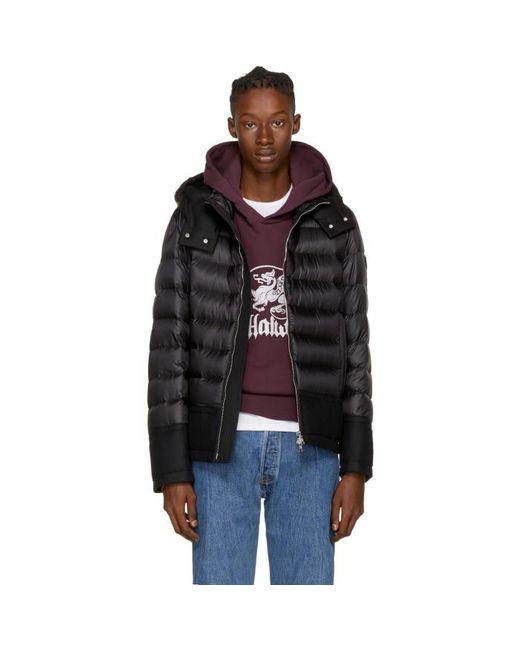 Moncler | Black Down Riom Jacket for Men | Lyst