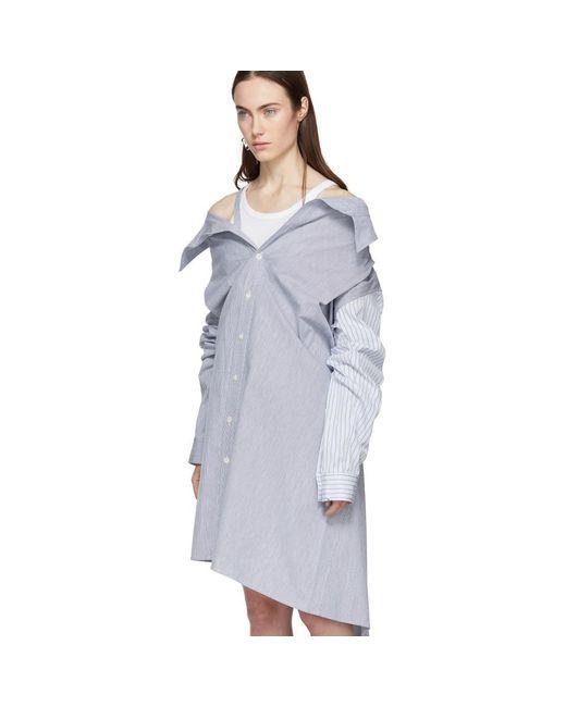 Get Authentic Sale Online White Shirt Dress AMBUSH Big Sale Sale Online Cheap Sale Prices Clearance Choice Outlet Discount KuhVJ3qGX4