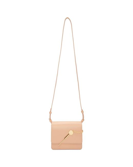 Sophie Hulme - Ssense Exclusive Pink Small Cocktail Stirrer Bag - Lyst