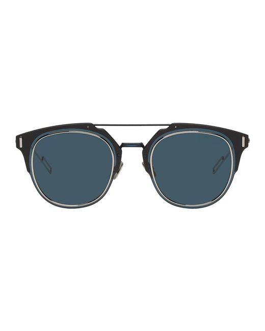9b3631d2b5408 Dior Homme - Blue Lunettes de soleil bleu marine Dior Composit 1.0 for Men  - Lyst ...
