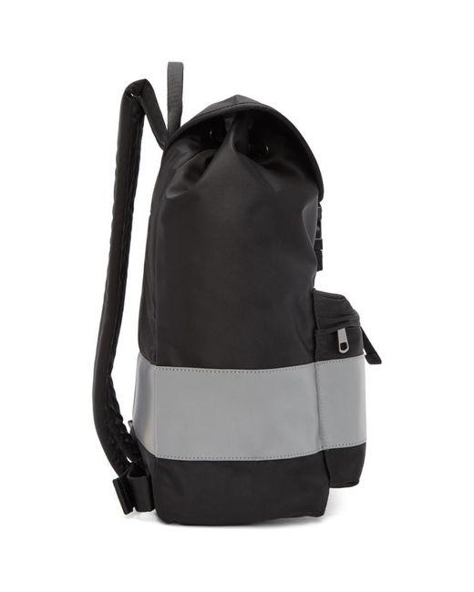 ... A.P.C. - Black Telio Backpack for Men - Lyst ... 56630d4fda24