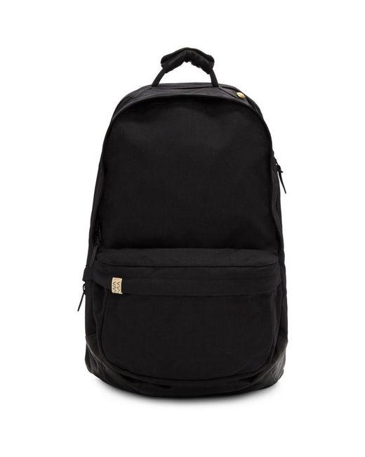 Visvim - Black Cordura And Leather 22l Backpack for Men - Lyst