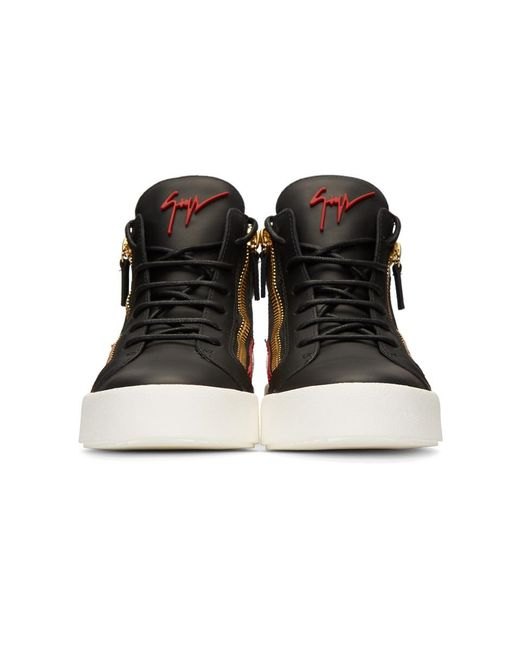 d40d6fbf166661 giuseppe-zanotti-nero-Black-And-Red-May-London-High-top-Sneakers.jpeg