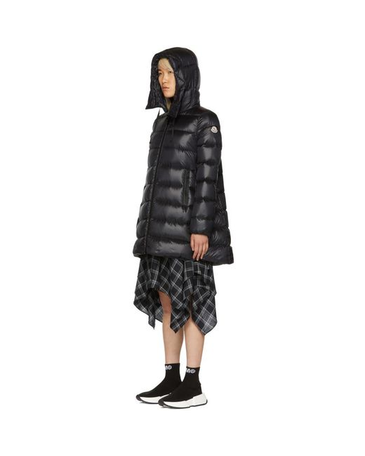 76a972106 Moncler Black Down Suyen Jacket in Black - Lyst