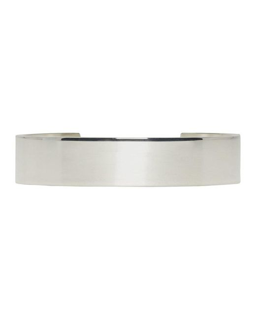 Le Gramme - Metallic Silver Polished Le 33 Grammes Cuff - Lyst