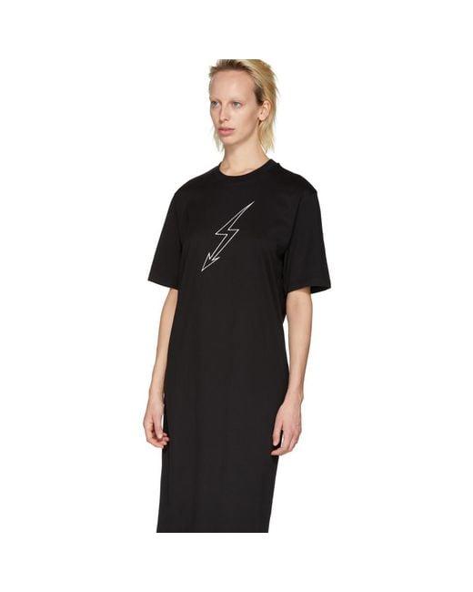 World Tour T-shirt dress - Black Givenchy R1yzR5