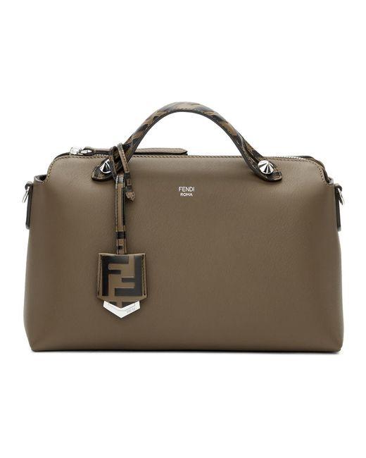 0897ef51ca03 Lyst - Fendi Brown By The Way Bag in Brown