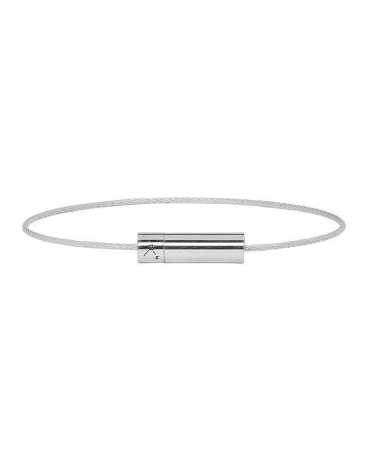 Le Gramme - Metallic Silver Polished 5 Grammes Cable Bracelet for Men - Lyst