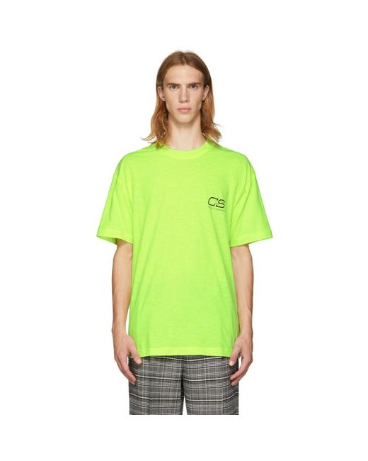 Cmmn Swdn - Yellow Ridley T-shirt for Men - Lyst