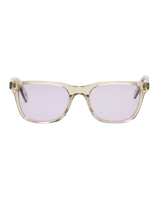 all in - Ssense Exclusive Grey And Purple York Sunglasses - Lyst