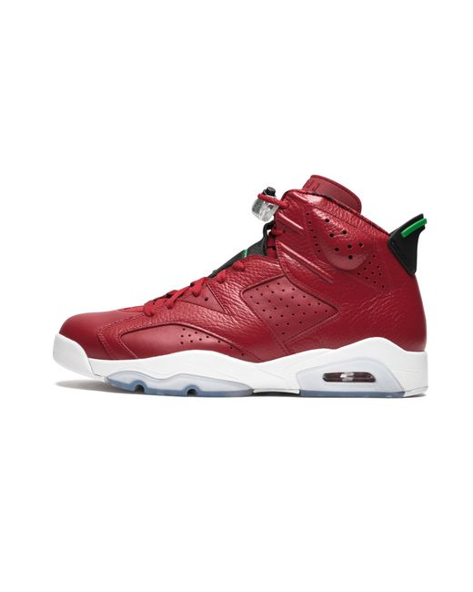 e702ca0e9abbb6 Lyst - Nike Air 6 Spiz ike High-top Trainers in Red for Men - Save 18%