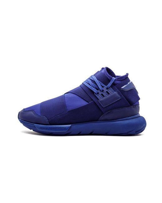 13b0483e0a9 Lyst - adidas Y-3 Qasa High in Blue for Men - Save 7%