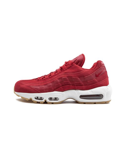 49bd95f0692 Nike - Red Air Max 95 Prm for Men - Lyst ...
