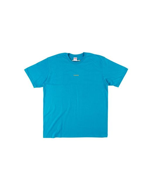 30b9a9885a68 Supreme Ftw Tee in Blue for Men - Save 20% - Lyst