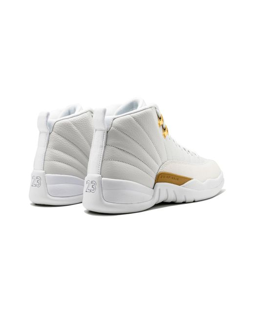 4772d80074bde4 Lyst - Nike Air 12 Retro Ovo in White for Men - Save 6%