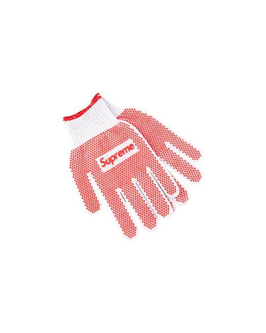 Supreme - Red Grip Work Gloves - Lyst