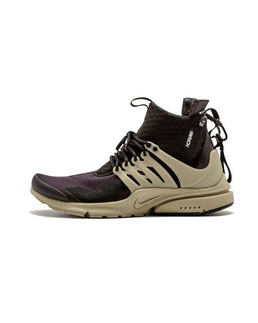 detailed pictures feead aefd8 Nike - Black Air Presto Mid  Acronym for Men - Lyst ...