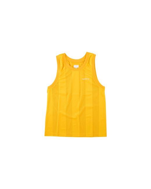 Supreme - Yellow Mesh Stripe Tank Top - Lyst
