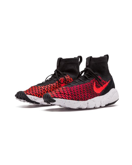 5c71ba07b276 Lyst - Nike Air Footscape Magista Flyknit in Red for Men - Save 38%
