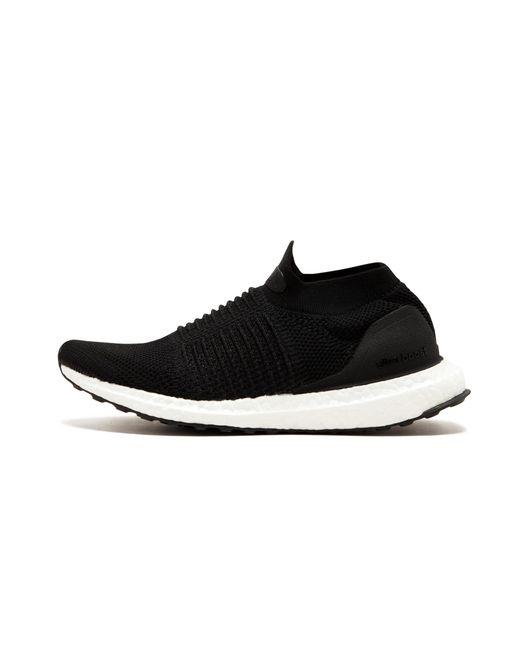 ef04fa882245d Adidas - Black Ultraboost Laceless for Men - Lyst ...