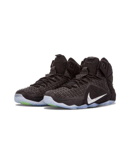 b37af238cab ... Nike - Black Lebron 12 Ext Rc Qs for Men - Lyst ...