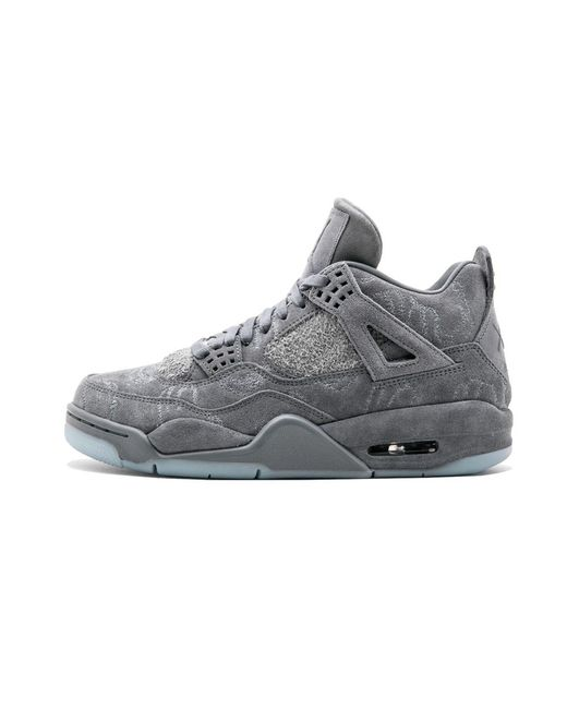 ab1c33e6777 Nike Air 4 Retro Kaws - Size 9.5 in Gray for Men - Save 22% - Lyst