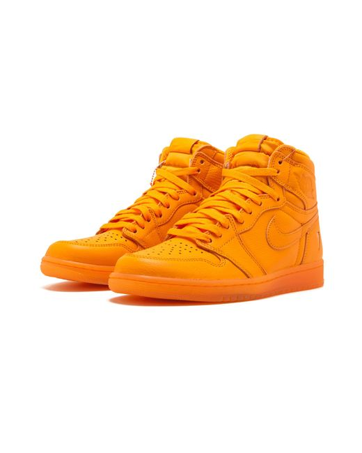 d3f861610 Nike Air 1 Retro Hi Og G8rd in Orange for Men - Save 61% - Lyst