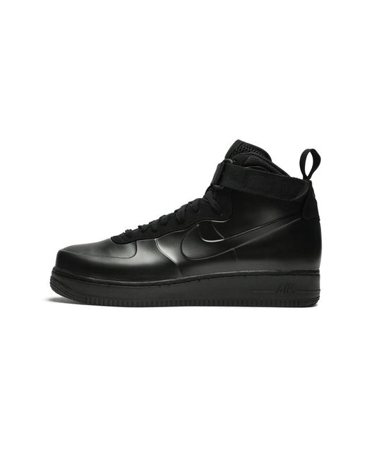 size 40 1ae7e f52a5 Men's Black Air Force 1 Foamposite Cup - Size 7