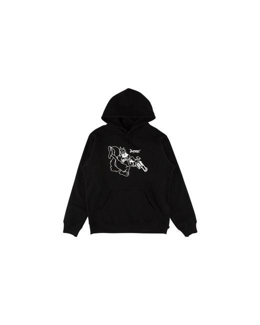 d84d8fce195a Lyst - Supreme Lee Hooded Sweatshirt in Black for Men - Save 2%