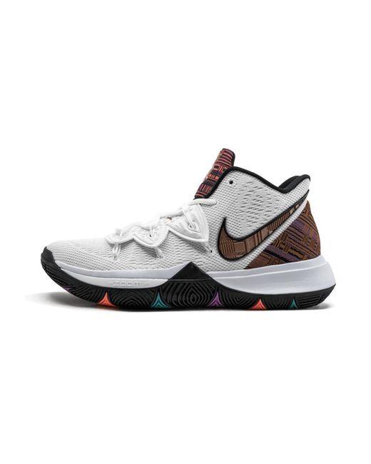 5b196d2600e8 Nike Kyrie 5 Bhm in White for Men - Lyst